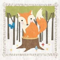 Woodland Hideaway Fox Fine-Art Print