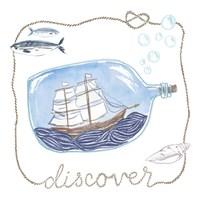 Ship in a Bottle Discover Fine-Art Print