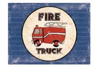 Fire Truck Blues Fine-Art Print