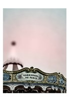 Pink Paris Carousel Fine-Art Print