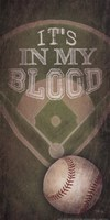 Baseball - In My Blood Fine-Art Print