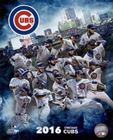 Chicago Cubs 2016 Team Composite Fine-Art Print