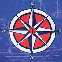 Nautical Compass I Fine-Art Print