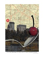 Minneapolis Cherry Spoon Fine-Art Print