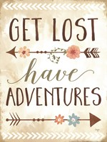 Get Lost, Have Adventures Fine-Art Print