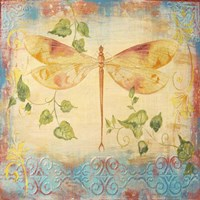 Aqua Dreams Dragonfly Fine-Art Print