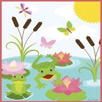 Frog Pond II Fine-Art Print