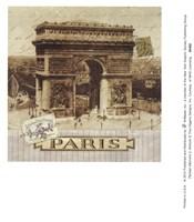 Parisian Memoirs 2 Fine-Art Print