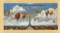 Ballooning Over Paris Fine-Art Print