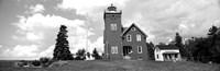 Two Harbors Lighthouse on Lake Superior's Agate Bay, Burlington Bay, Minnesota Fine-Art Print
