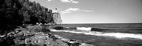 Lighthouse on a cliff, Split Rock Lighthouse, Lake Superior, Minnesota Fine-Art Print