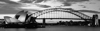 Sydney Harbour Bridge At Sunset, Sydney, Australia Fine-Art Print