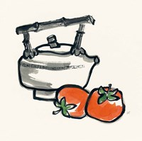 Tea and Persimmons Fine-Art Print