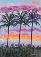 Sunset Trio Fine-Art Print