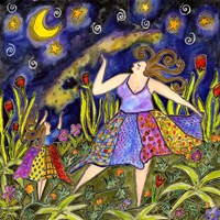Big Diva & Fireflies Fine-Art Print