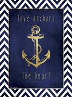 Anchor & Gold Fine-Art Print