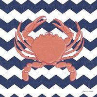 Crab Chevron Fine-Art Print