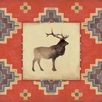 Elk Blanket Fine-Art Print