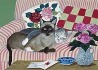 Mink And Jezebel Fine-Art Print