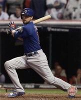 Ben Zobrist RBI Double Game 7 of the 2016 World Series Fine-Art Print