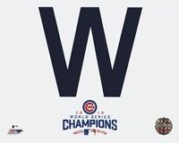 Cubs W 2016 World Series Champions Fine-Art Print