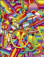 Pop Art Drums Fine-Art Print