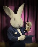 Rabbit Magician Fine-Art Print