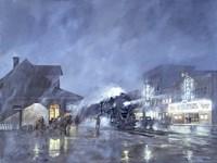 Train Station Fine-Art Print