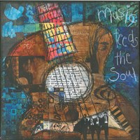 Music Feeds The Soul - Guitar Fine-Art Print