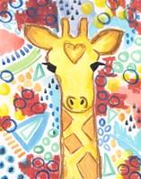 Watercolor - Giraffe Fine-Art Print