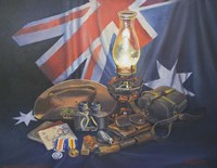 An Anzac Remembered Fine-Art Print