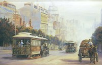 Melbourne Cable Cars Fine-Art Print