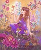 Fairies In My Garden Fine-Art Print