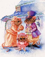 Mouse Christmas Gifts Fine-Art Print