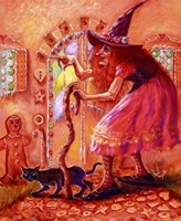 Gingerbread Witch Fine-Art Print