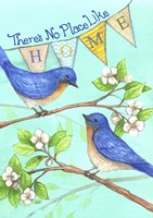 Home Blue Birds Fine-Art Print