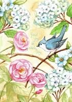 Rose And Bird Joy Each Day 2 Fine-Art Print