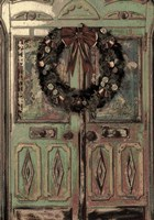 Christmas Door Card Fine-Art Print