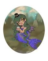 Emerald Mermaid Fine-Art Print