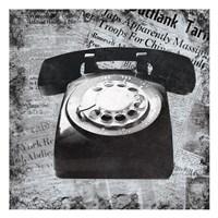 Vintage Phone Fine-Art Print