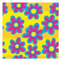 Groovy Love Pattern 3 Fine-Art Print
