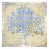 Chevron Tree 1 Fine-Art Print