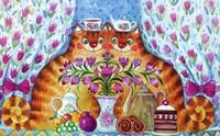 Tea Cats Fine-Art Print