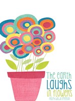 Laughs in Flowers Fine-Art Print