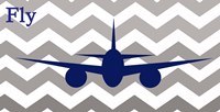 Airplane Fly Fine-Art Print