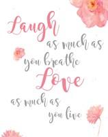 Laugh and Love Fine-Art Print