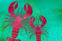 Lobster In Seaweed Fine-Art Print