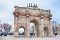 Arc Triomphe Carrousel Fine-Art Print