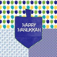 Happy Hanukkah II Fine-Art Print