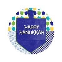 Happy Hanukkah Round II Fine-Art Print